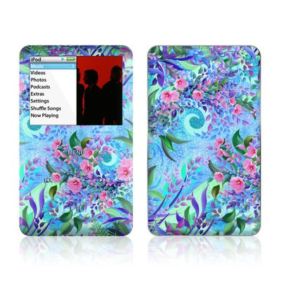 iPod Classic Skin - Lavender Flowers