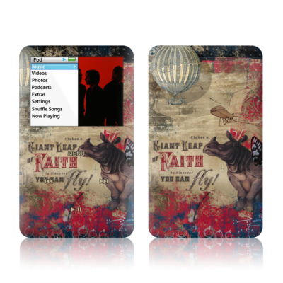 iPod Classic Skin - Leap Of Faith