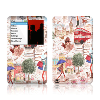 iPod Classic Skin - London