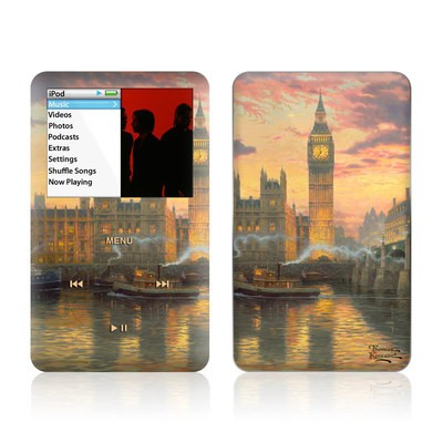 iPod Classic Skin - London - Thomas Kinkade