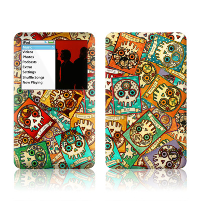 iPod Classic Skin - Loteria Scatter