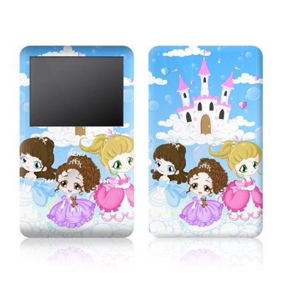 iPod Classic Skin - Little Princesses