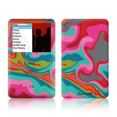 iPod Classic Skin - Marble Bright