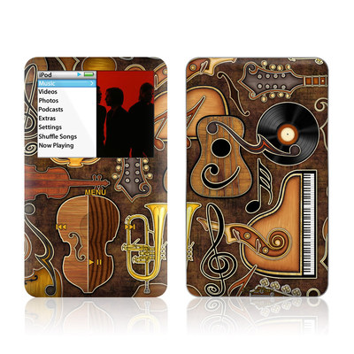 iPod Classic Skin - Music Elements