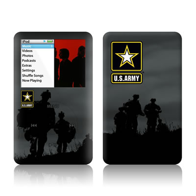 iPod Classic Skin - Night Action