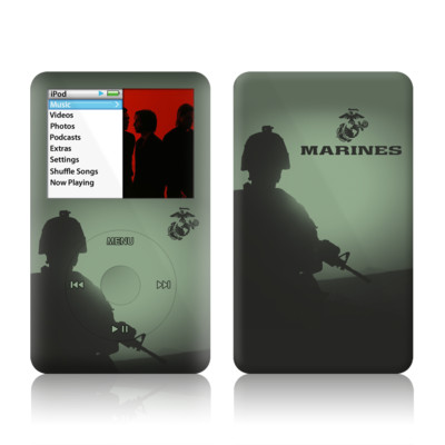 iPod Classic Skin - Night Vision