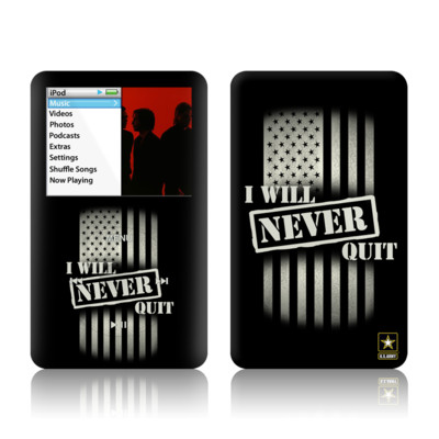 iPod Classic Skin - Never Quit