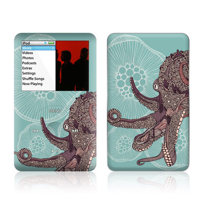 iPod Classic Skin - Octopus Bloom