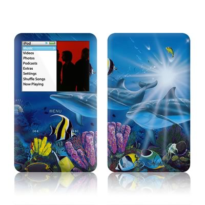 iPod Classic Skin - Ocean Friends