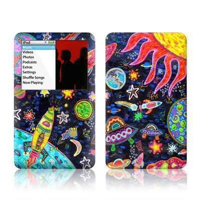 iPod Classic Skin - Out to Space