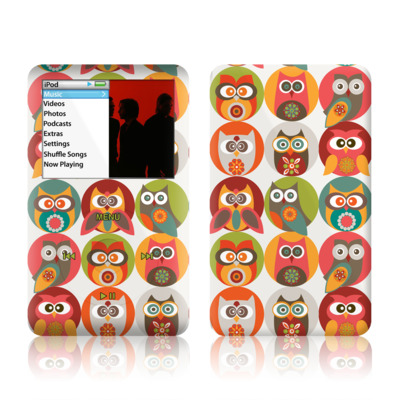 iPod Classic Skin - Owls Family