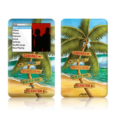 iPod Classic Skin - Palm Signs