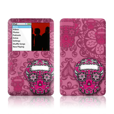 iPod Classic Skin - Pink Lace