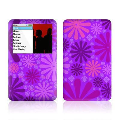 iPod Classic Skin - Purple Punch