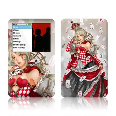 iPod Classic Skin - Queen Of Cards