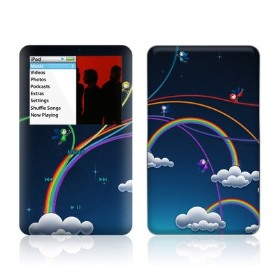iPod Classic Skin - Rainbows