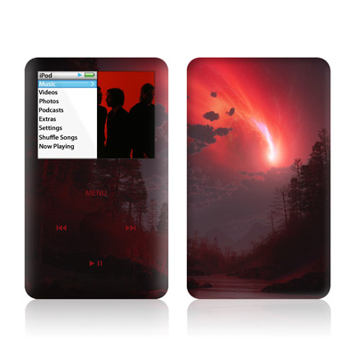 iPod Classic Skin - Red Harbinger