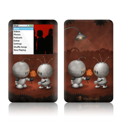 iPod Classic Skin - Robots In Love