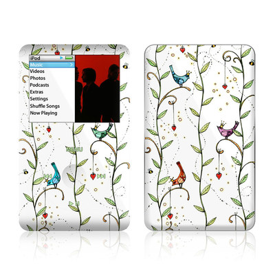 iPod Classic Skin - Royal Birds