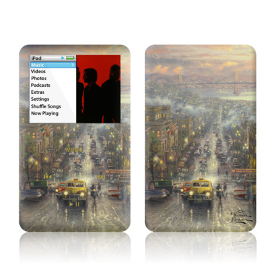 iPod Classic Skin - Heart of San Francisco