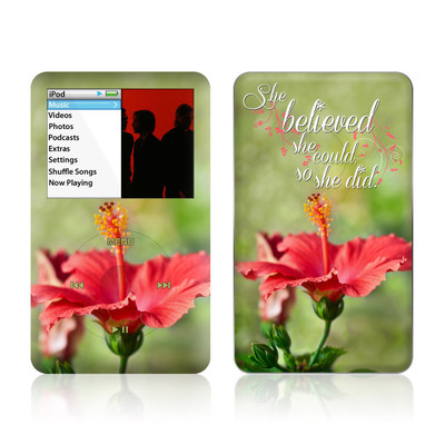 iPod Classic Skin - She Believed