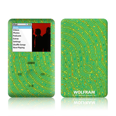 iPod Classic Skin - Speckle Contours