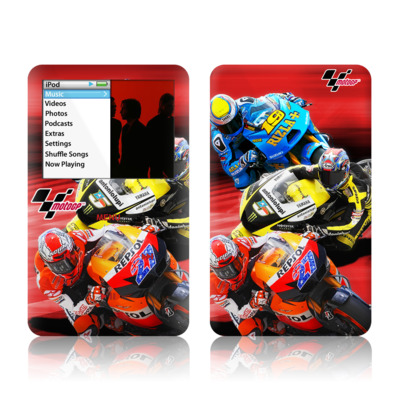 iPod Classic Skin - Speed Collage