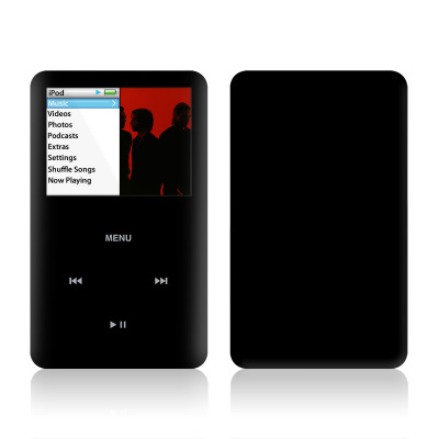 iPod Classic Skin - Solid State Black