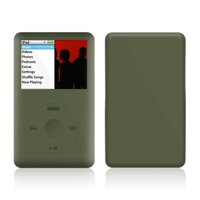 iPod Classic Skin - Solid State Olive Drab