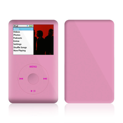 iPod Classic Skin - Solid State Pink