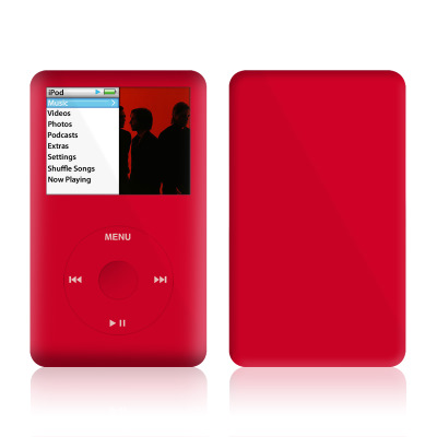 iPod Classic Skin - Solid State Red