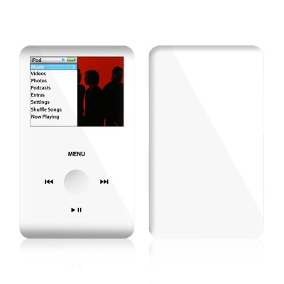 iPod Classic Skin - Solid State White