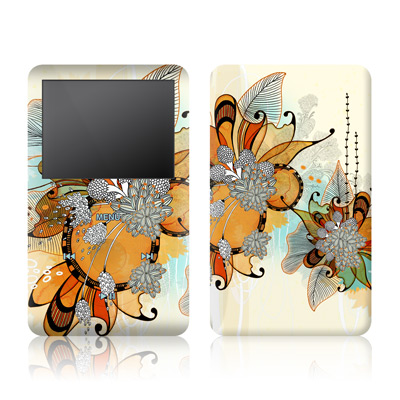 iPod Classic Skin - Sunset Flowers