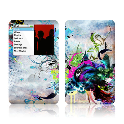 iPod Classic Skin - Streaming Eye