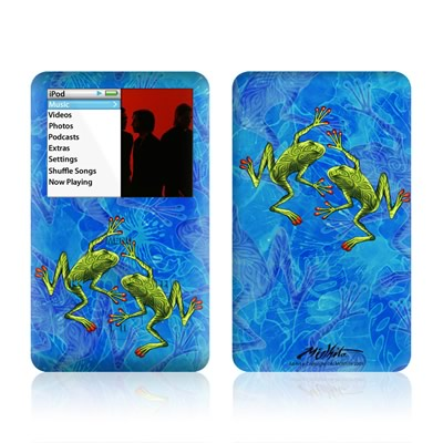 iPod Classic Skin - Tiger Frogs