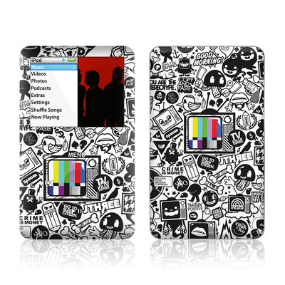 iPod Classic Skin - TV Kills Everything