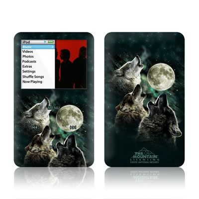 iPod Classic Skin - Three Wolf Moon
