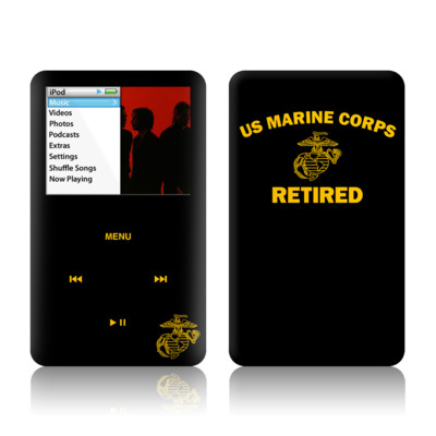 iPod Classic Skin - USMC Retired