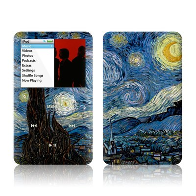 iPod Classic Skin - Starry Night