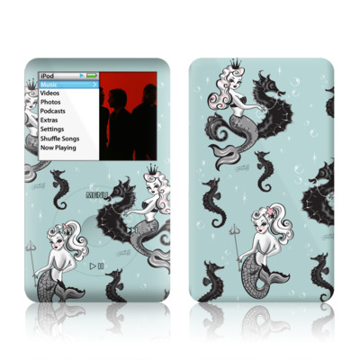 iPod Classic Skin - Vintage Mermaid