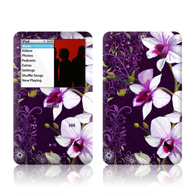 iPod Classic Skin - Violet Worlds