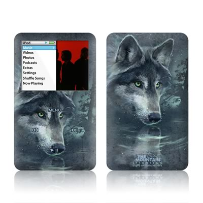 iPod Classic Skin - Wolf Reflection