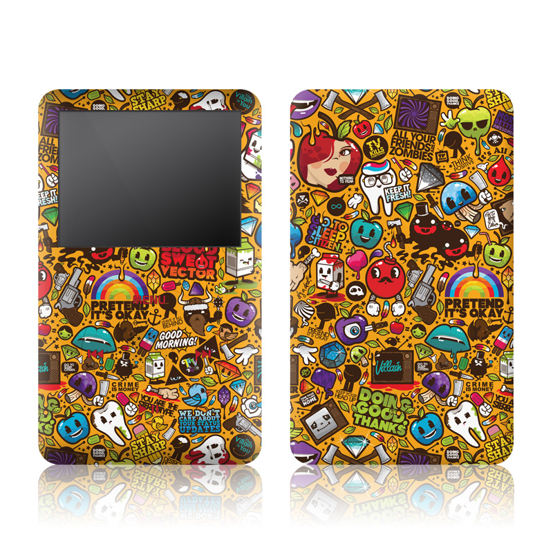 Ipod Classic Skin Psychedelic By Jthree Concepts Decalgirl