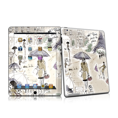 iPad 2 Skin - Ah Paris