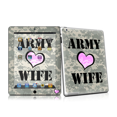 iPad 2 Skin - Army Wife