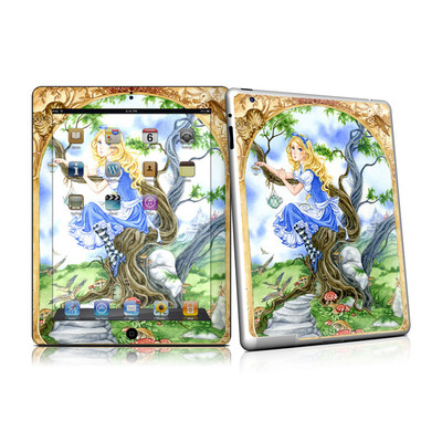 iPad 2 Skin - Alice's Tea Time