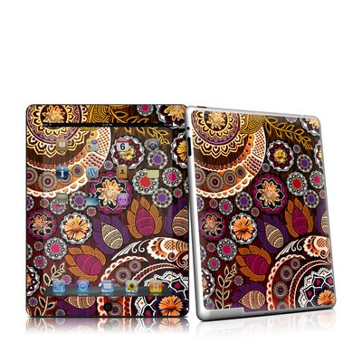 iPad 2 Skin - Autumn Mehndi