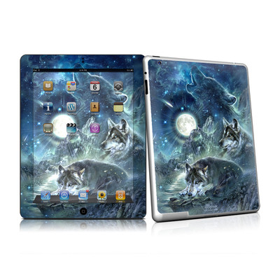 iPad 2 Skin - Bark At The Moon