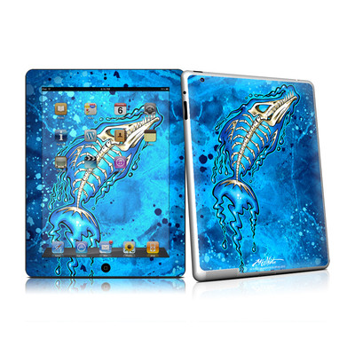 iPad 2 Skin - Barracuda Bones