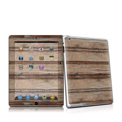 iPad 2 Skin - Boardwalk Wood
